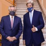 La visita de John Kerry en agenda global por el cambio climático