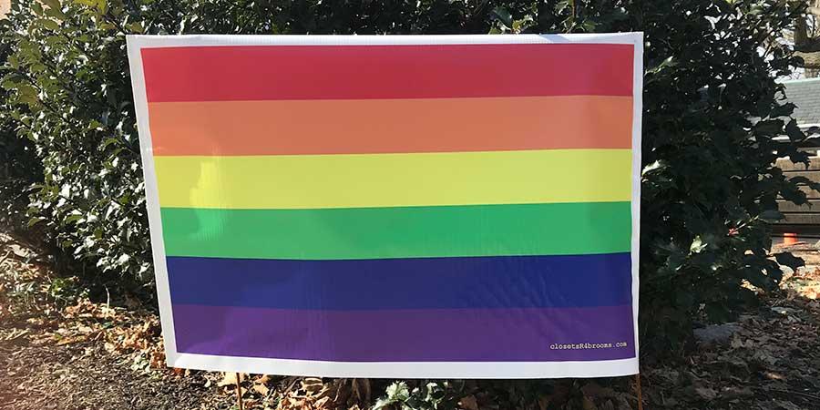 LGBTQ Lawn Sign