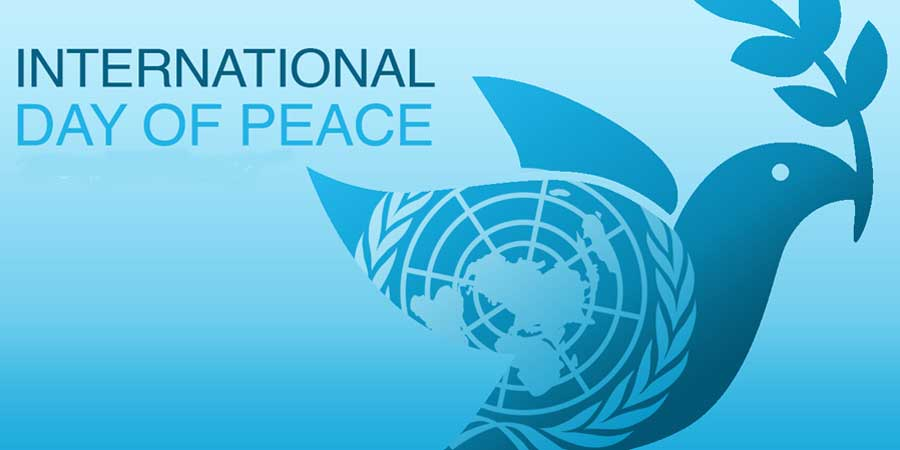 Rezultat slika za international peace day 2018