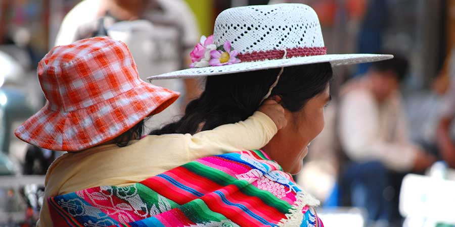 Bolivia Child Mother