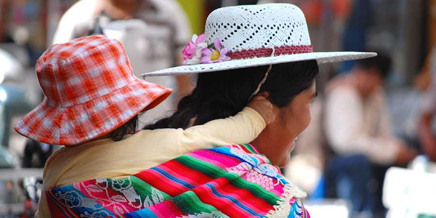 Bolivia Child Mother