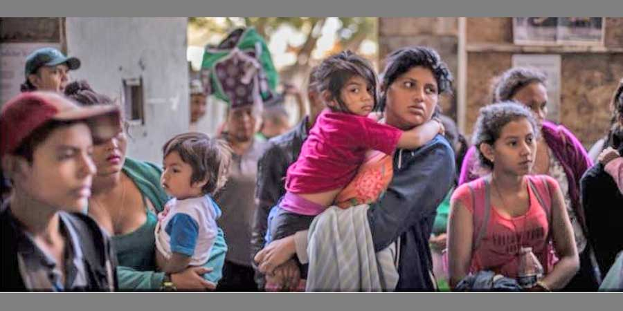 migrants caravan AFSC