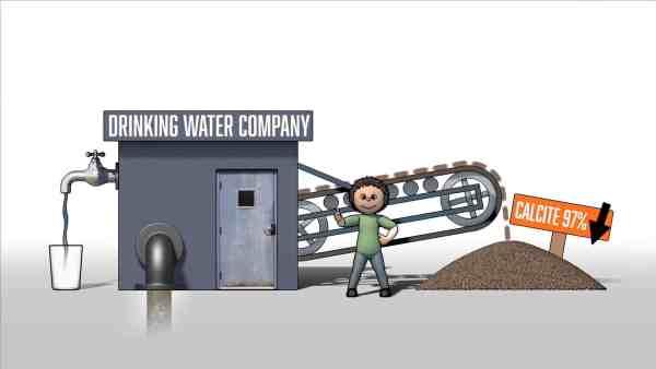 Aquaminerals Calcite 3d animatie video