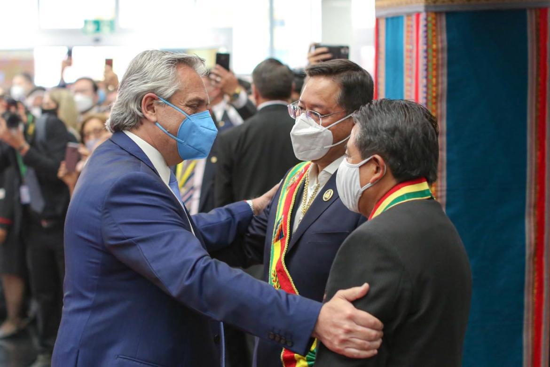 """""""Es un día muy importante, Bolivia recupera la democracia"""", dijo el Presidente"""