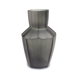 Kahulu Grey Guaxs Glass Vase