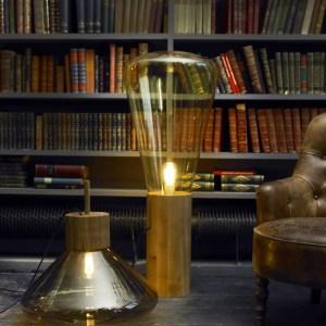 MUFFINS WOOD 04 Tall Brokis PC853 floor lamp