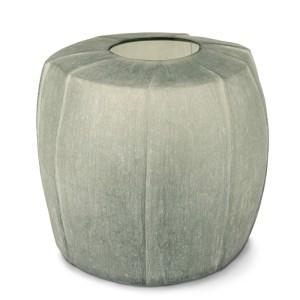 Tamatav vase round steelgray Guaxs 1729LS