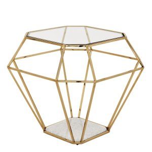 Asscher side table Eichholtz
