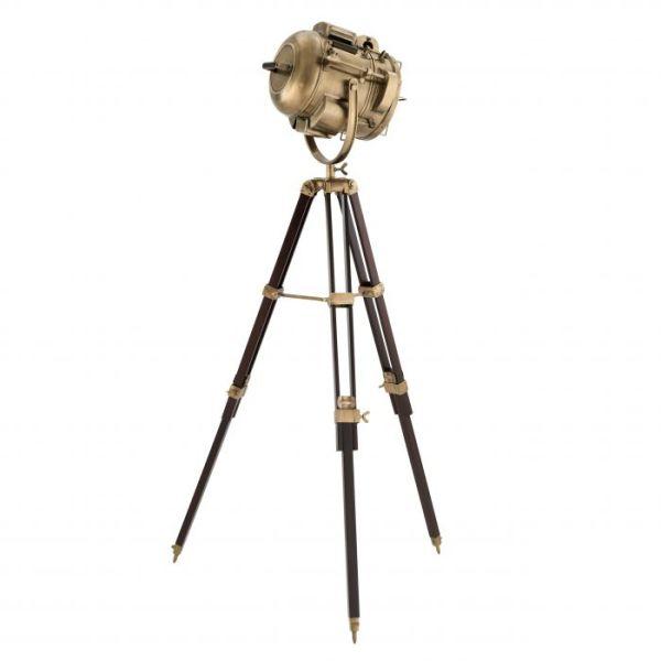 ATLANTIC Floor Lamp brass EICHHOLTZ