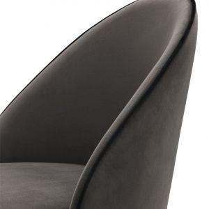 COOPER SET OF 2 DARK GREY chair EICHHOLTZ