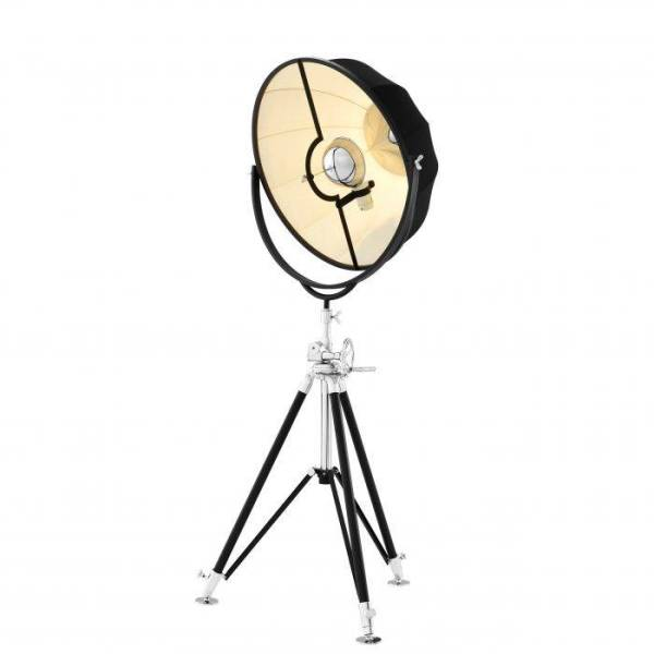 VERTIGO Floor Lamp black EICHHOLTZ
