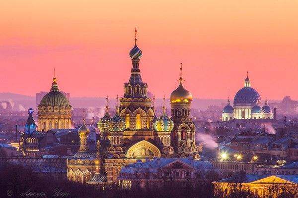 Rumbo a San Petersburgo