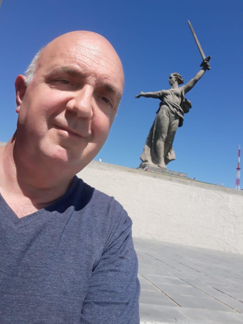 LA ESTATUA DE LA LIBERTAD RUSA, UN HOMENAJE ETERNO A LOS CAÍDOS -  Informe de Oscar Lutczak desde VOLVOGRADO