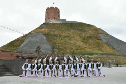 Nemunas en el Castillo de Gediminas