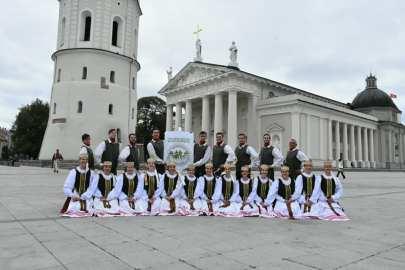 Nemunas en la Catedral de Vilnius