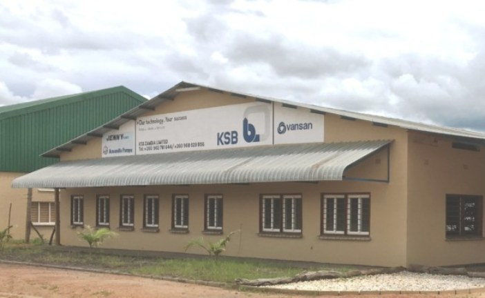 KSB invests in Zambia