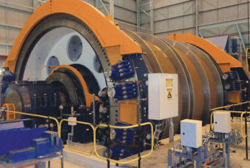 Brakes for Holding and Parking of Copper Mine Hoists Feature Precision Control
