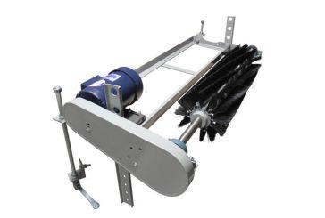 Small Size Brush Style Conveyor Belt Cleaner