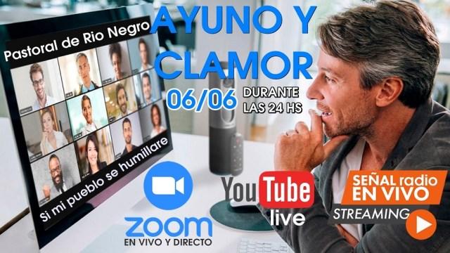Jornada Provincial de Ayuno y Clamor 06/06