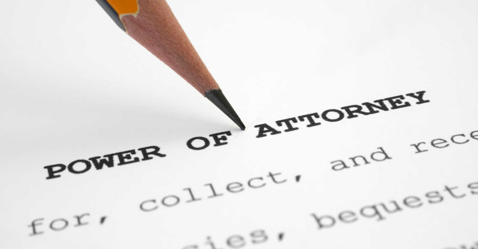 get a power of attorney in Mesa