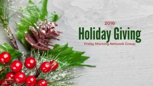2016 Holiday Giving