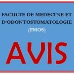 Avis/FMOS: Les épreuves de probatoire se tiendront le lundi 08 février 2021