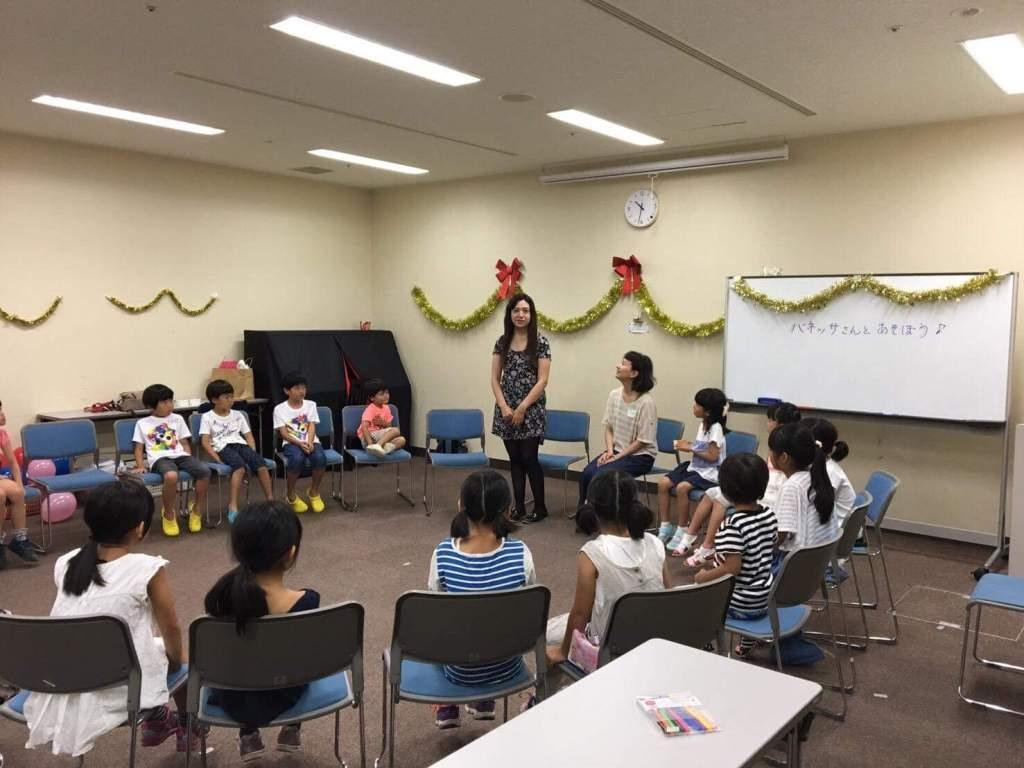 HIRO英語教室授業の様子