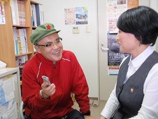 インタビューに熱く応えていただいた添田さん