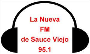 LOGO Radio La nueva de Sauce Viejo 95.1
