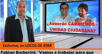 Exclusivo: Fabian Barberini anunció acuerdo entre CAMBIEMOS y UNIDAD CIUDADANA en General Alvarado
