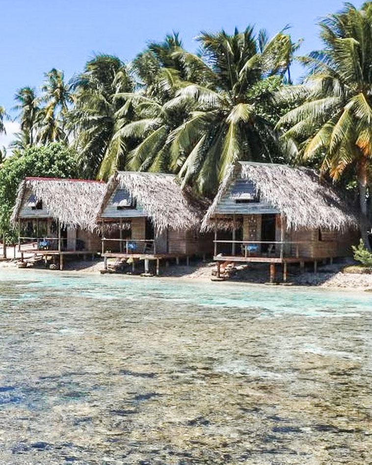 Fakarava Tetamanu village bungalow