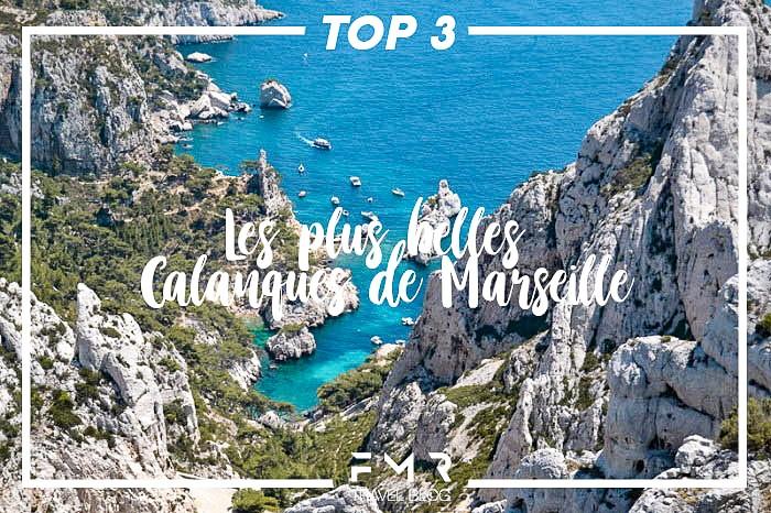 TOP 3 LES PLUS BELLES CALANQUES DE MARSEILLE