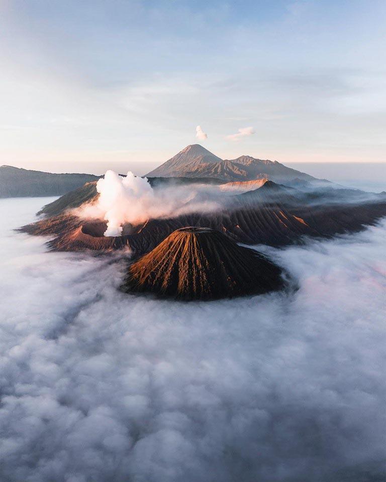 Trek volcan Java