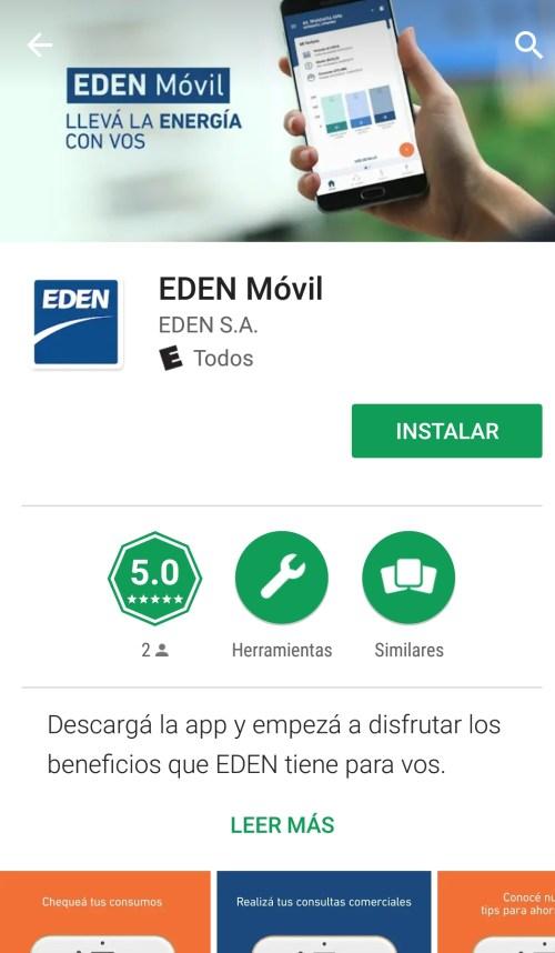 EDEN lanza su App y Sucursal Virtual.