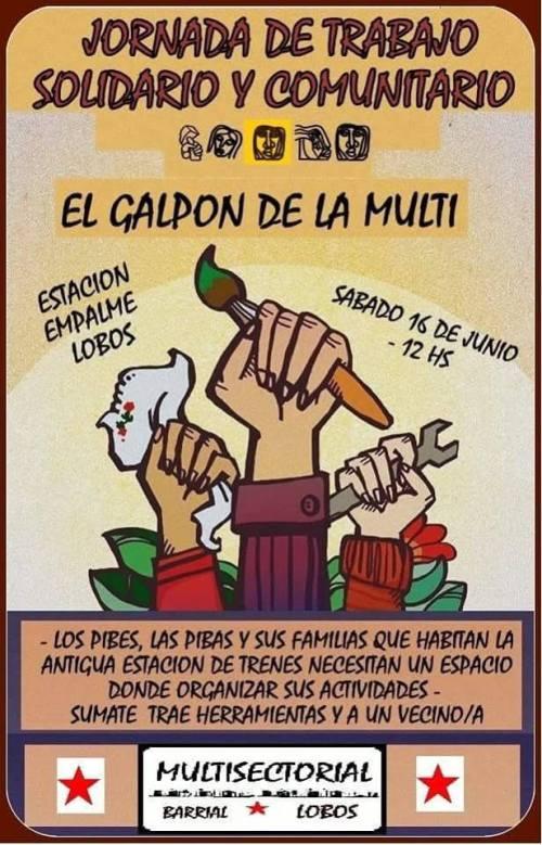 Audio. Jornada de trabajo solidario y comunitario en Empalme