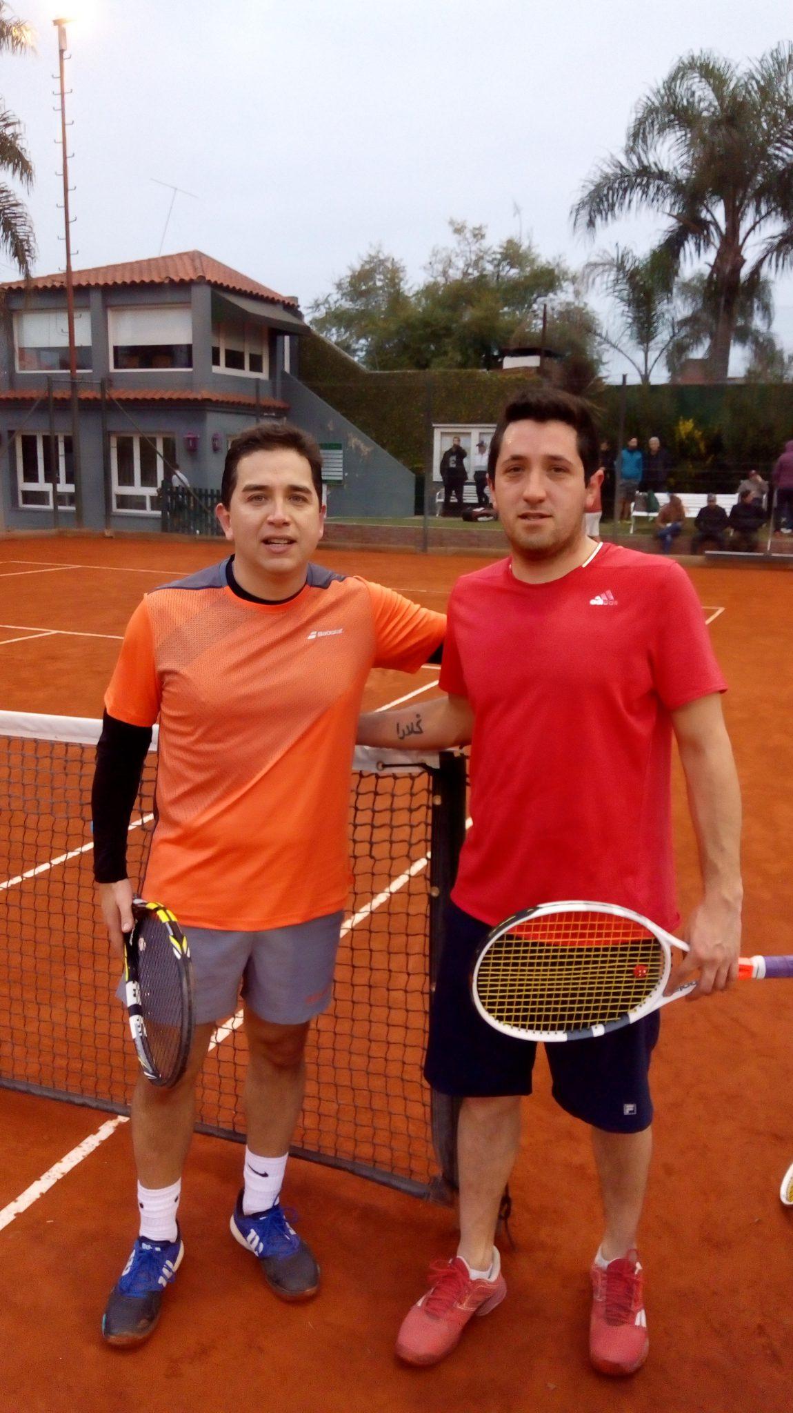 Tenis. Pasó otra jornada más del torneo organizado por Cristián Ramos