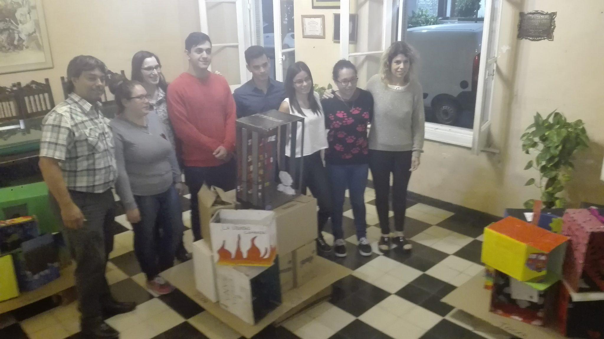Audio. Los alumnos de la ESB N4 le contaron a la comunidad el proyecto «Experiencias en Depósito»