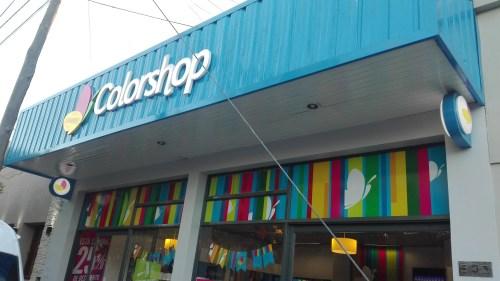 AUDIO. Colorshop abre sus puertas en Rivadavia 390.
