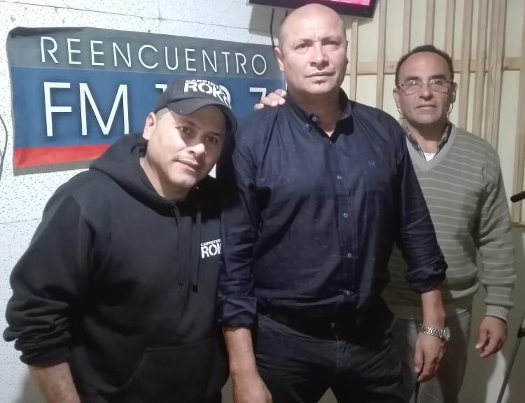 AUDIO. El Precandidato Marcelo PUMA Duarte junto a Ángel Palacios y Roko Acosta, en Fm Reencuentro.