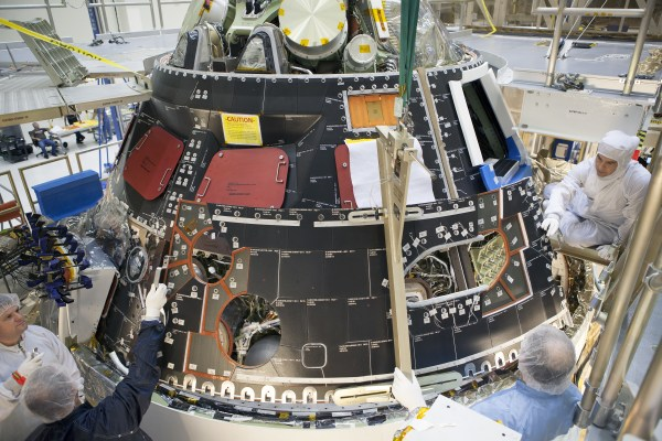 NASAS ORION SPACECRAFT FMS Global News