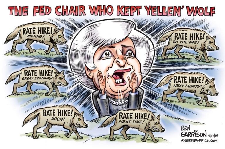 Yellen Cries Wolf