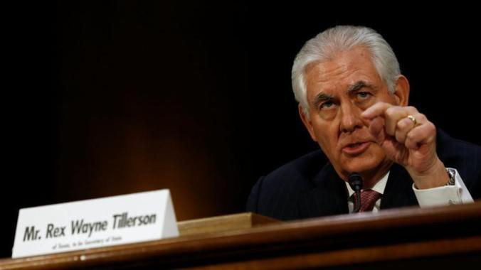 Muslim Spy Ring Rex Tillerson