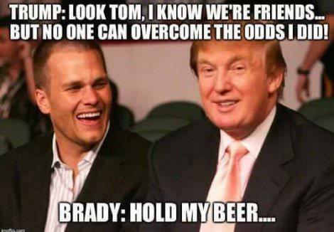 Trump Brady SB?resize=470%2C326 monday morning quarterback hillary clinton is to the election as