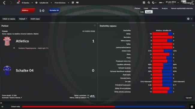 staridedo (Atletico) vs Slamka17 (Schalke) - statistiky