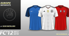 FC'12 Europe nations kits
