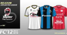 FC'12 Belgium Jupiler Pro League kits 2017/18