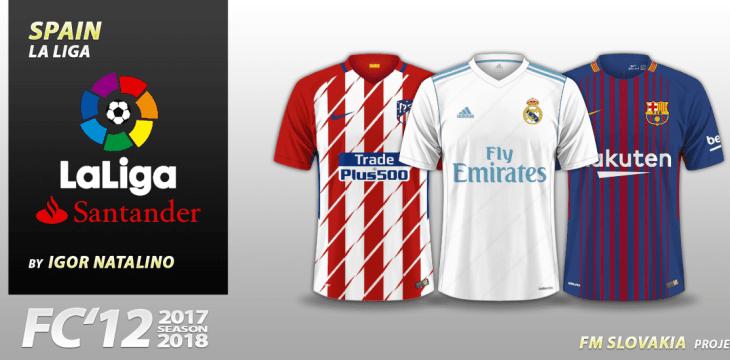 FC'12 Spain – La Liga Santander 2017/18 (v1.01)