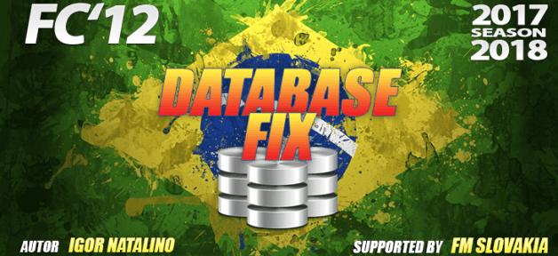 Football Manager 2018 Data Updates - FC'12 Brazilian kits hotfix