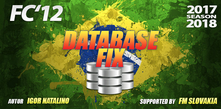 FC'12 Brazilian kits hotfix