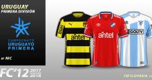 FC'12 Uruguay Primera División kits 2017